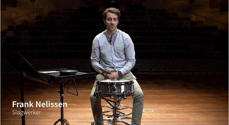 Profs helpen amateurs #4: Frank Nelissen (slagwerk)