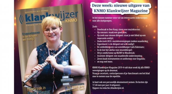 KNMO Klankwijzer Magazine met tal van onderwerpen