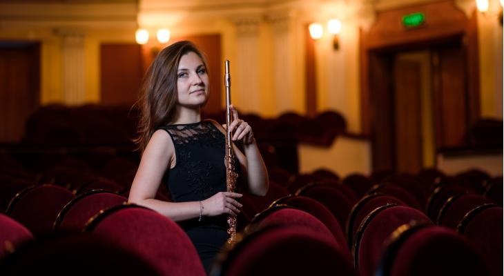 Irina Stachinskaya te gast bij Buffet Crampon Amsterdam