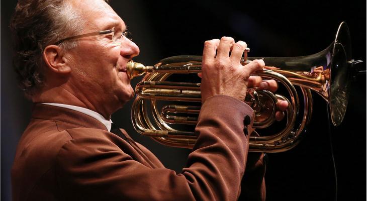 Ernst Hutter slotact van 6. Fest der Blasmusik
