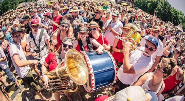Doe mee aan het Gesamtspiel van Woodstock der Blasmusik