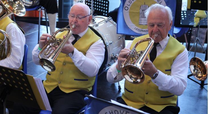Ouderen zien muziekvereniging als ideale tijdsbesteding