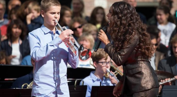 Legertop maakt uitzondering voor trompettist Luca (16)