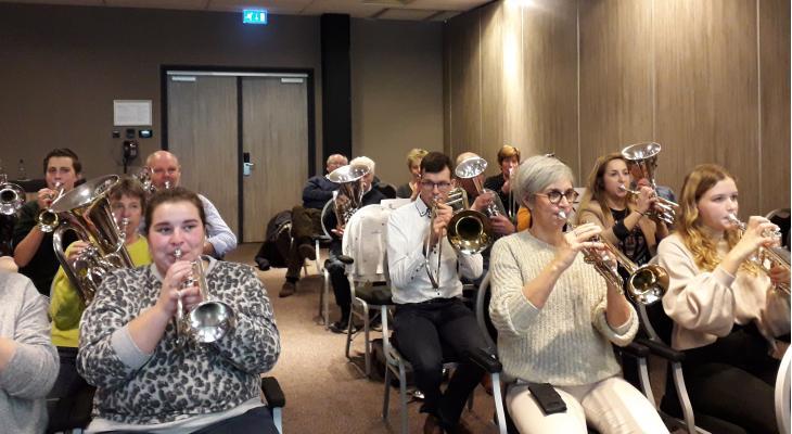 <p>Apollo Brass Domburg start jubileumjaar</p>