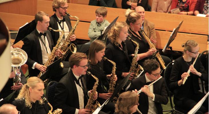 Najaarsconcert Harmonie Wierden