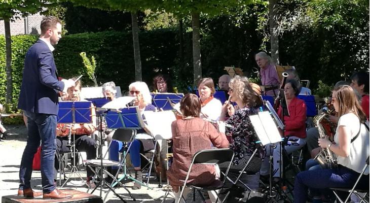 Muzikale bevrijdingspicknick door Westerharmonie