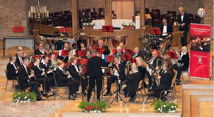 Najaarsconcert door Harmonie de Spaarnebazuin