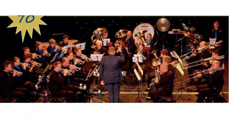 Flevo Brass viert 70-jarig jubileum