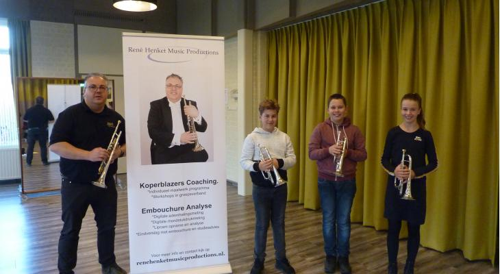 Workshop bij Apollo Brass met René Henket