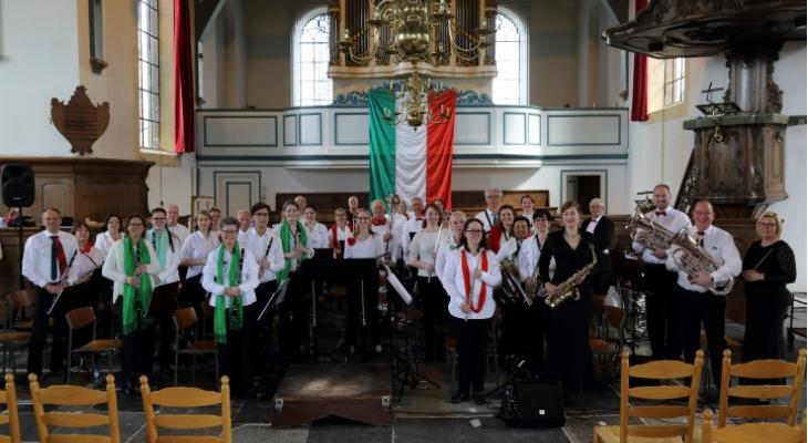 Concordia Oostzaan speelt muziek uit films