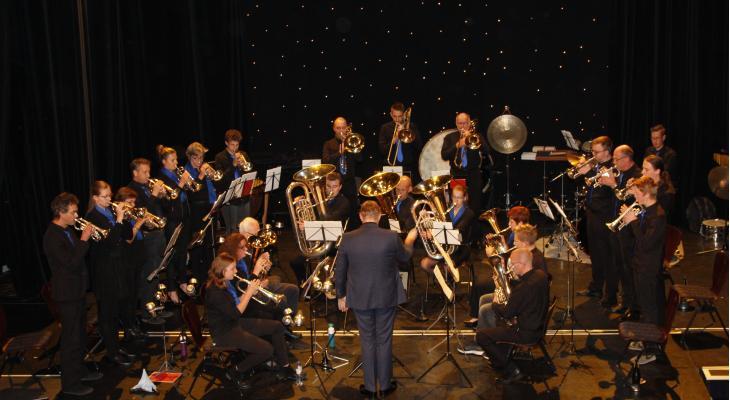 Concert door Flevo Brass en Crescendo Steenwijk