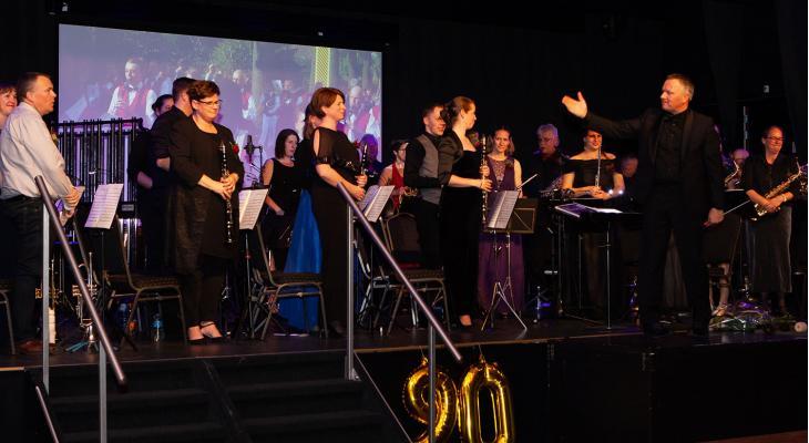 Geslaagde jubileumviering Liemers Harmonie