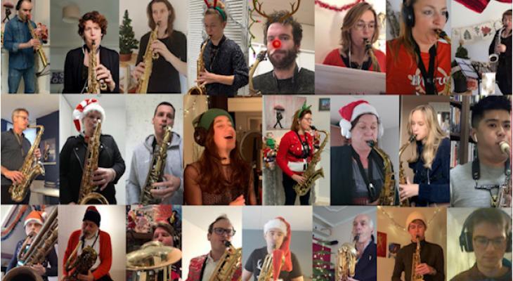 Muzikale kerstgroet van het Westland Saxofoonorkest