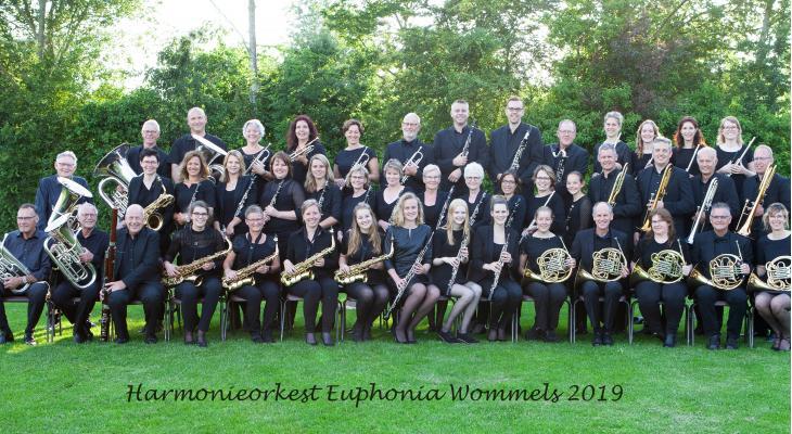Jubileumreceptie Euphonia Wommels te volgen via livestream