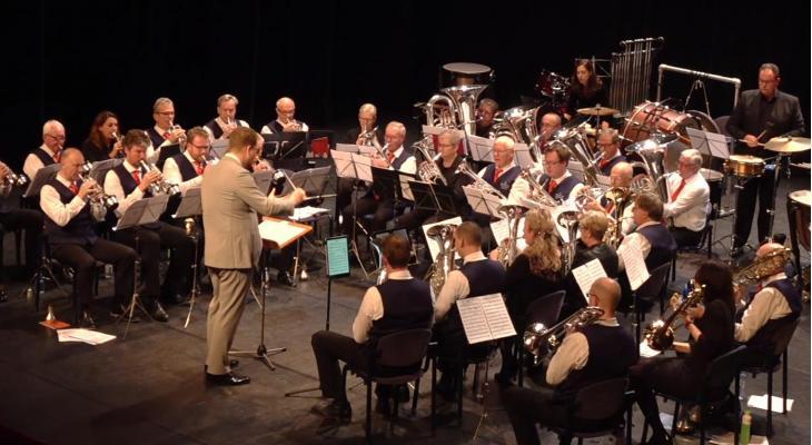 Concours in beeld: Brassband Utrecht speelt Jacob de Haan