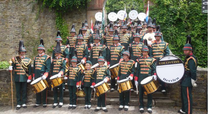 Edelweiss met wisselbekers terug uit Bad Münstereifel