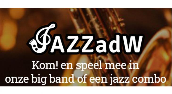 Stichting Jazz aan de Waterweg zoekt muzikanten voor bigband (Rotterdam)