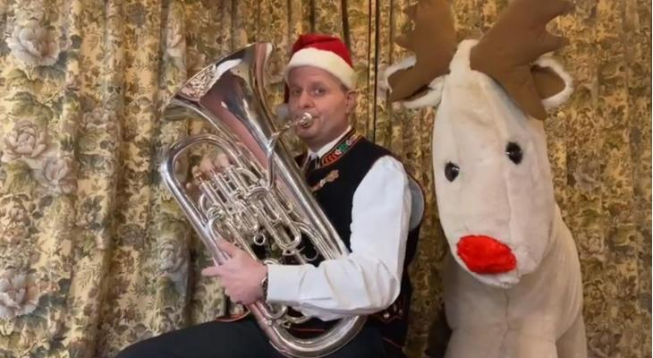 Muzikale kerst-nieuwjaarsgroet van Die Stallfreunde