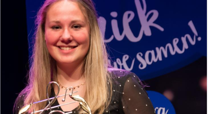 Bente Miedema wint solistenconcours Dyn Poadium