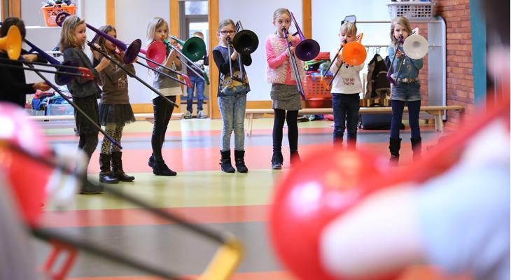 Ontdekkingstocht langs muziek, sport en cultuur