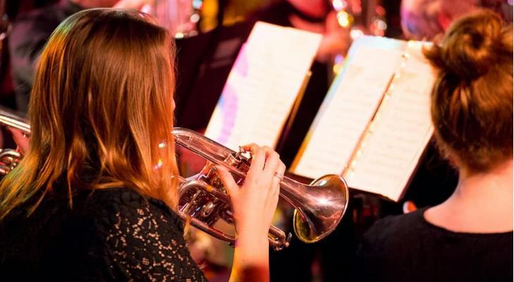 Brassband David Zwolle met gastsolist Kevin van Giel