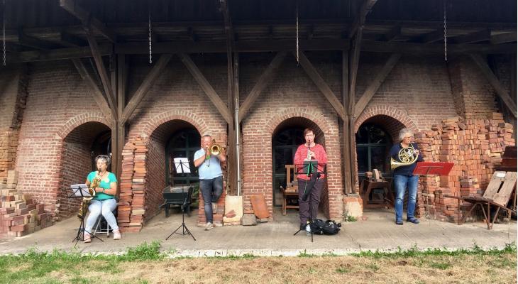 Muzikaal avontuur in oude steenfabriek