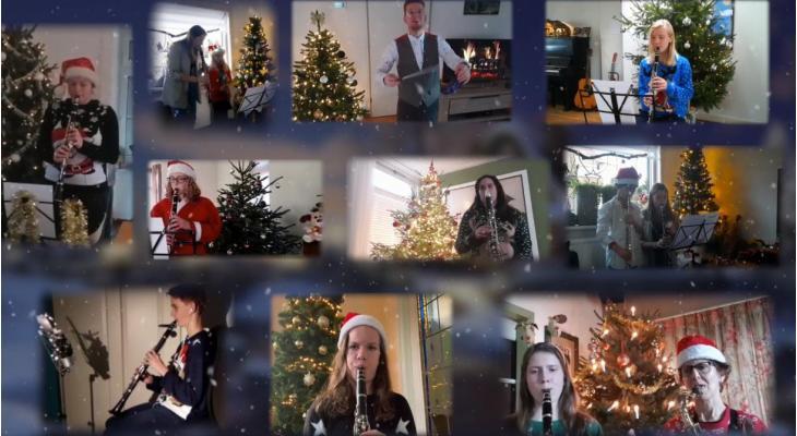 Vlijt en Volharding met coronaproof kerstboodschap