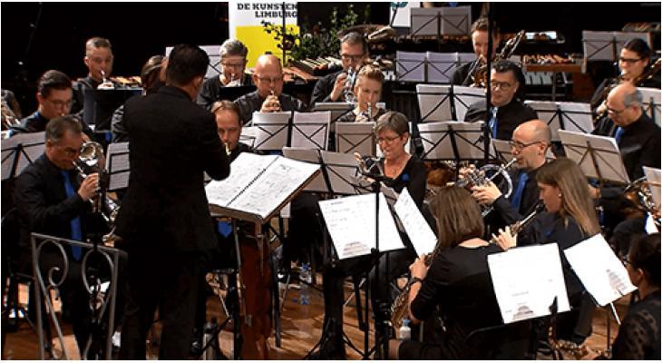 Concours in beeld:De Maasgalm Elsloo speelt Goorhuis