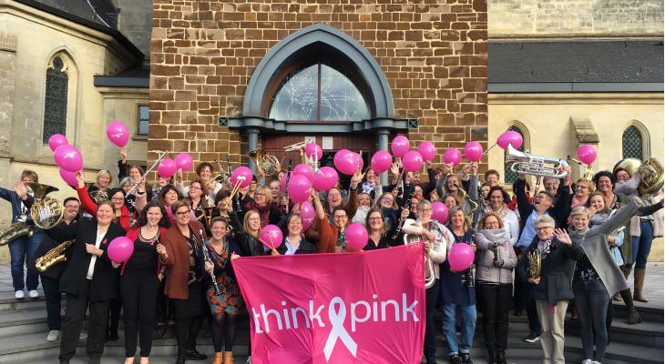 Belgische vrouwen strijden tegen borstkanker