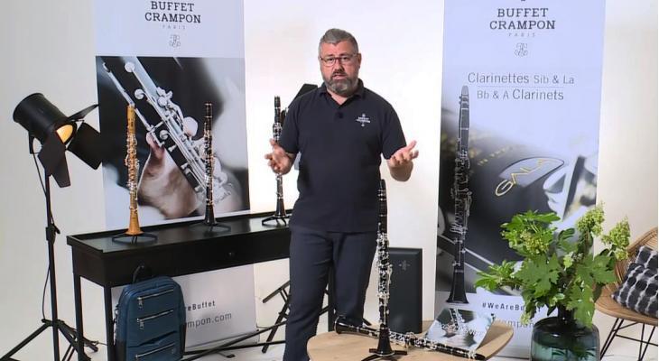 Presentatievideo van de GALA klarinet van Buffet Crampon