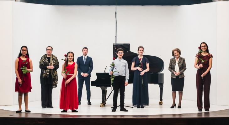 Vier winnaars bij Prinses Christina Klassiek Concours