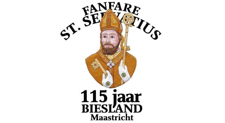 Jubileumconcert door Sint Servatius Biesland