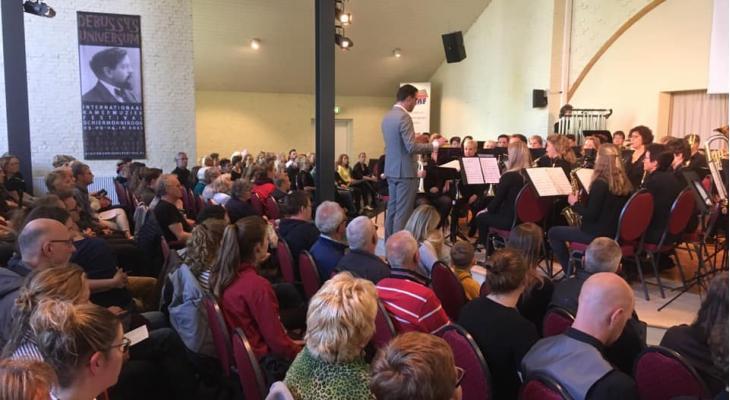 Martini Brassband Groningen dagwinnaar op Schiermonnikoog