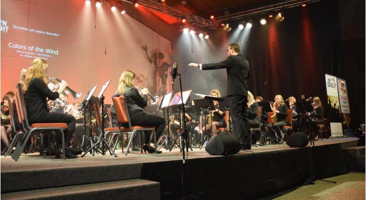 Survento Fanfare Festival met tien deelnemers