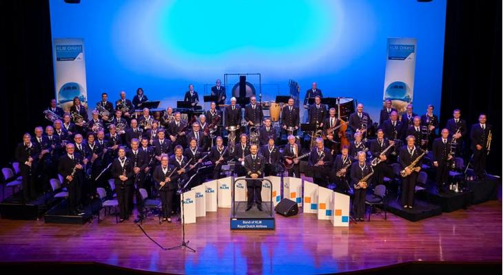 KLM-orkest te gast bij Harmonie Katwijk