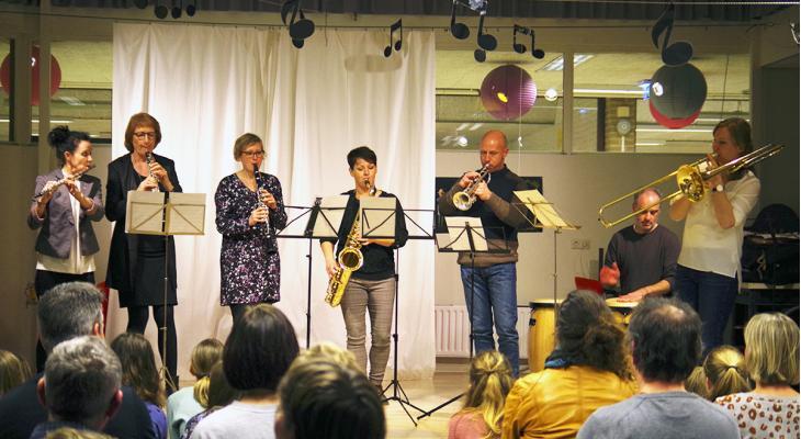 Jong talent op ensembleavond Crescendo Sassenheim