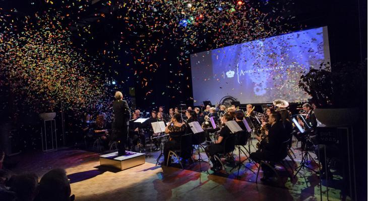 Nieuwjaarsconcert door Asterius Oisterwijk
