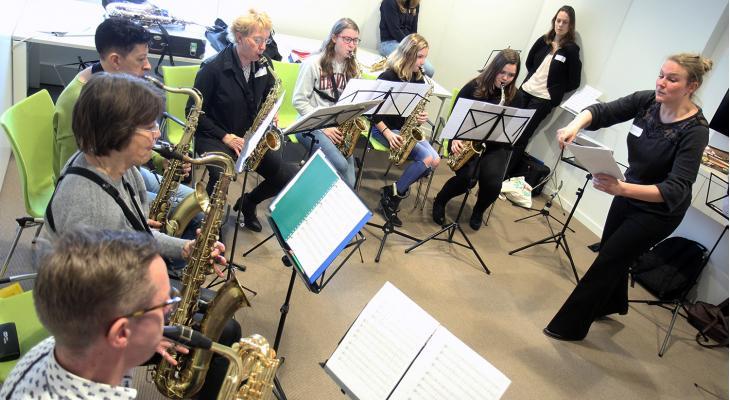 KNMO Klankwijzer scoort met play-ins, masterclasses en workshops