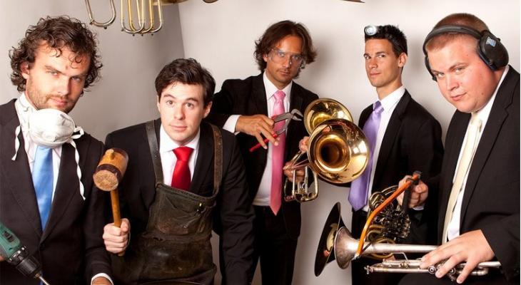 Topsolisten op album van Amsterdam Brass Quintet
