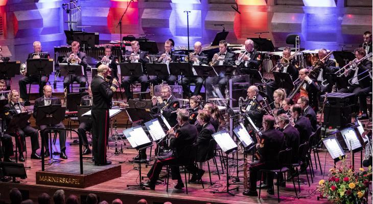 Marinierskapel met keur van artiesten in GalaConcert Arnhem