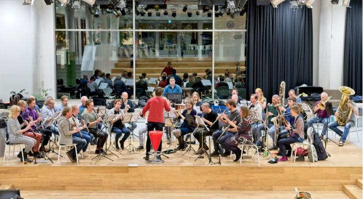 Pilot ensemblespel van Nieuw Geluid en Calefax