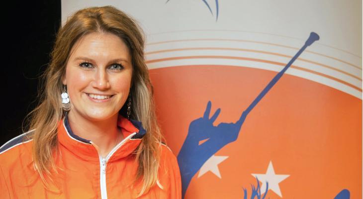 Bibi Muller nieuwe bondscoach van twirlploeg op EK in Italië