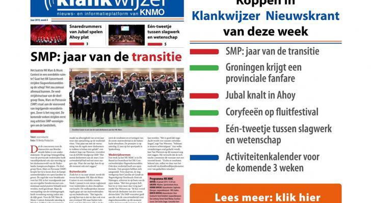 KNMO Klankwijzer nieuwskrant week 4 staat online