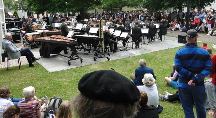 Muziek in alle hoeken van Schiermonnikoog