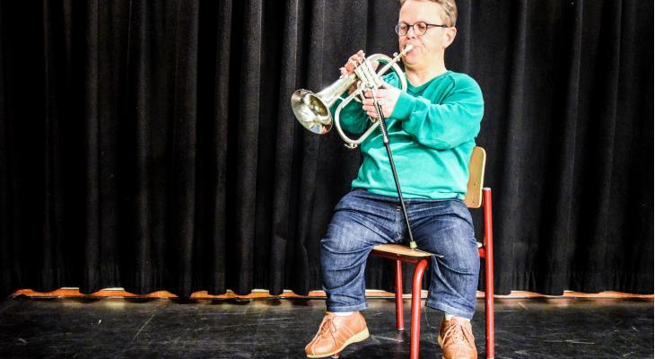 'Met muziek valt de beperking weg'