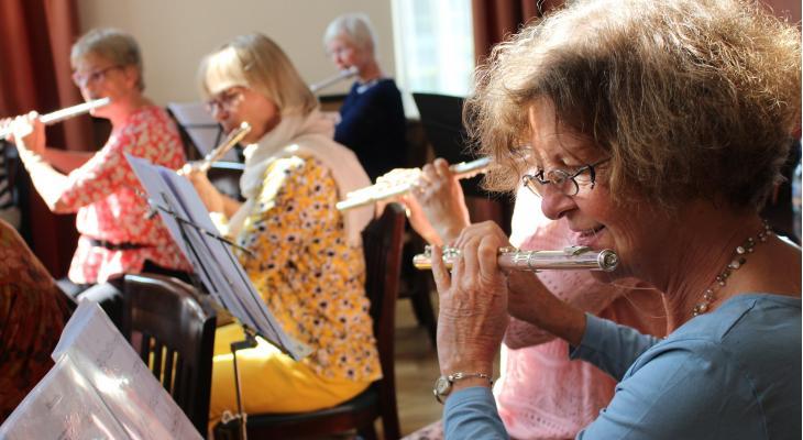 Drie dagen fluitspelen op sprookjesachtige locatie