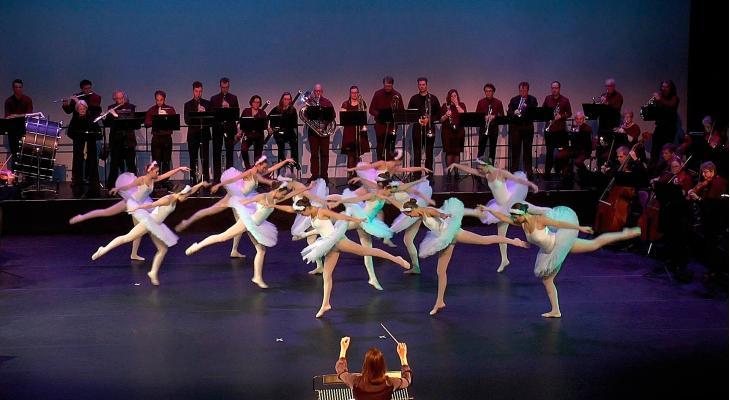 Het Zwanenmeer door Sonate met jonge dansers