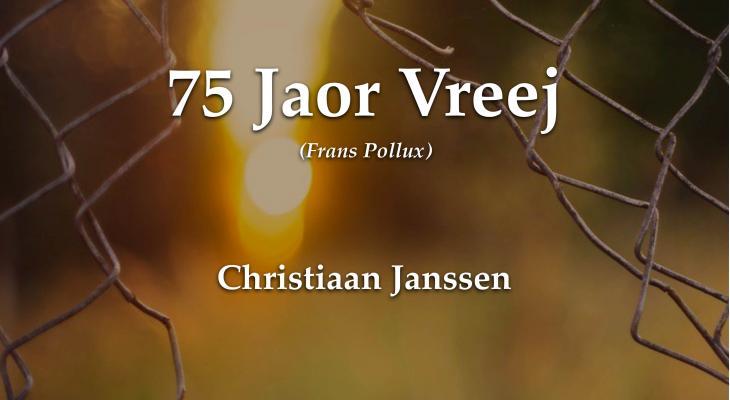 Compositie 75 Jaor Vreej beschikbaar voor Limburgse verenigingen