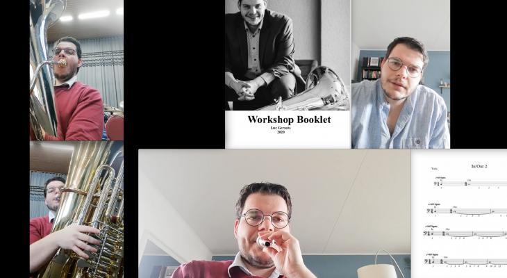 Digitale workshop voor koperblazers door Luc Geraats