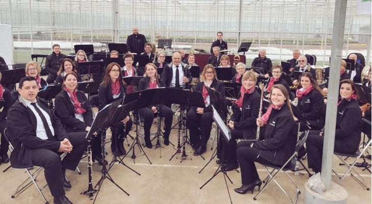 Harmonie Katwijk stelt start jubileumjaar uit